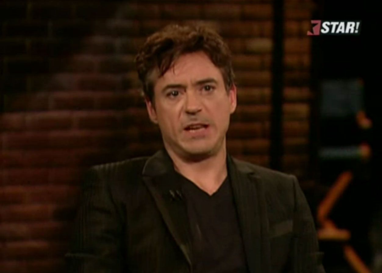 Robert Downey Jr - Angry at Judge