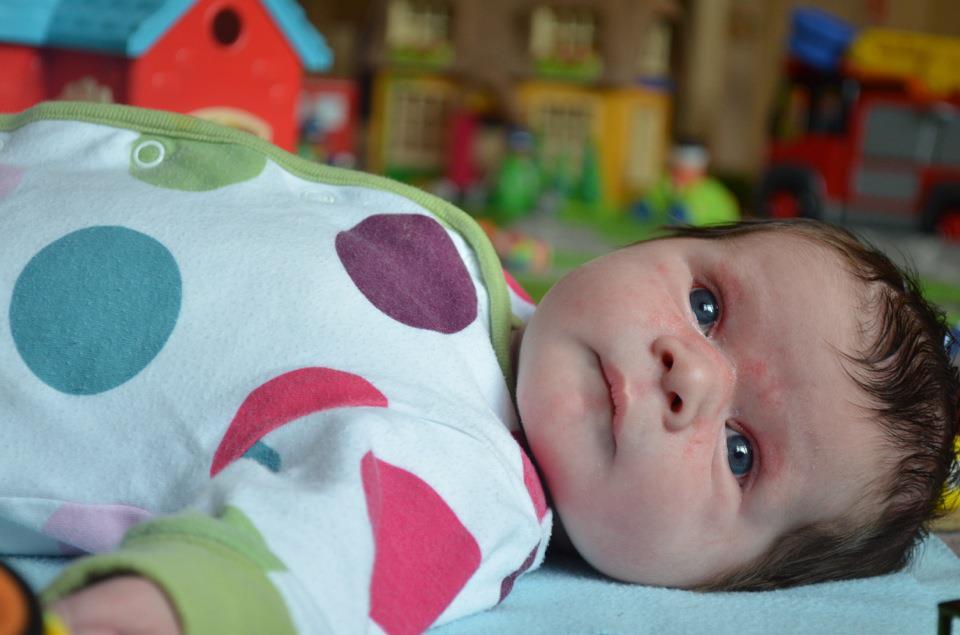 Eva Jean - two weeks old